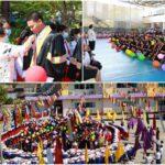 กิจกรรมน้องส่งพี่นักเรียนระดับชั้นมัธยมศึกษาปีที่ 6 ที่สำเร็จการศึกษา ประจำปีการศึกษา 2563